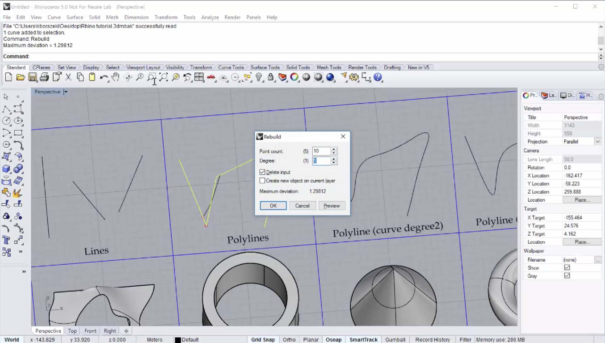 Algorithmic Design and the BIM workflow: Chapter 1  Modeling