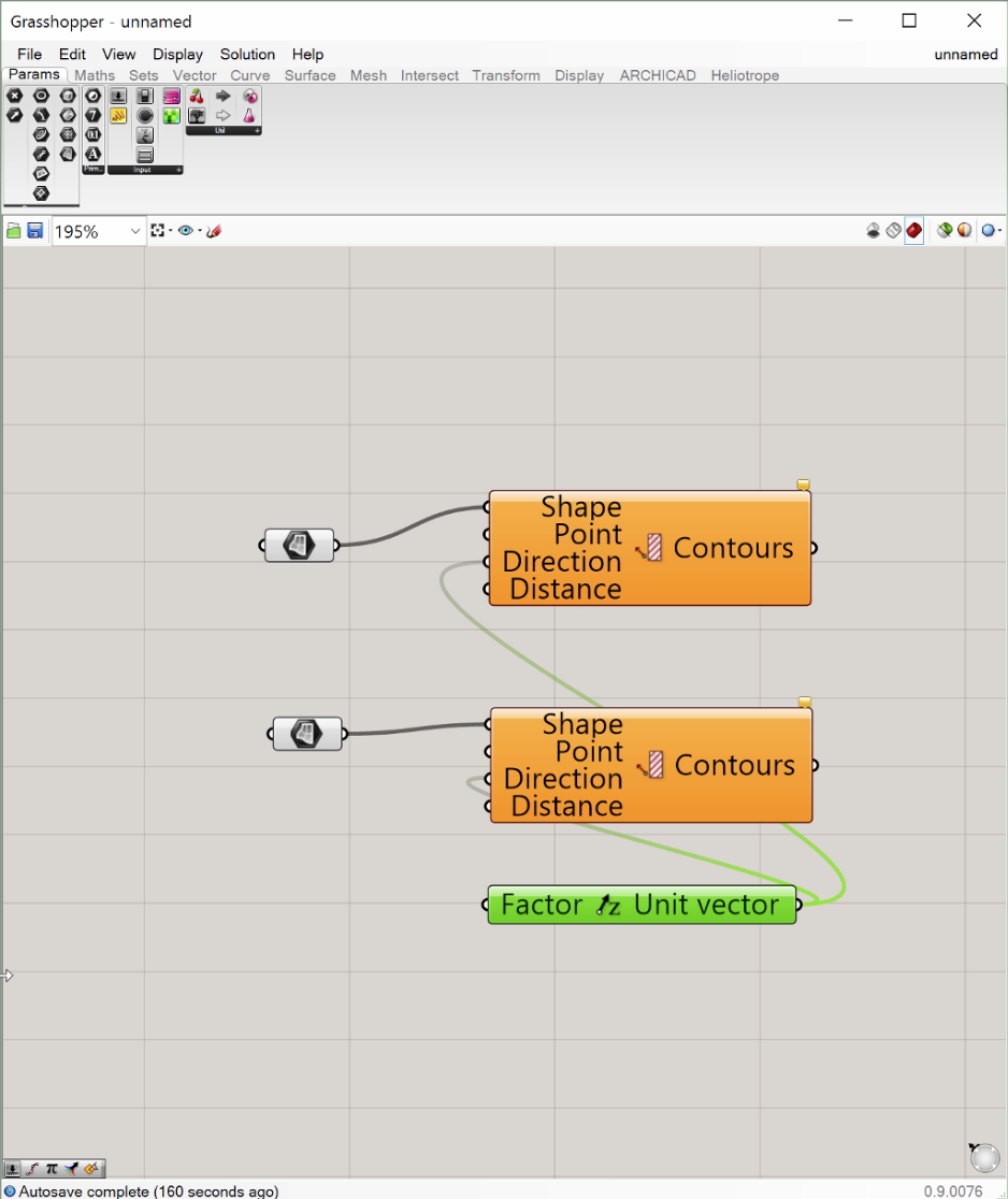 Algorithmic Design And The Bim Workflow Chapter 3 Grasshopper Wiring Diagrams Step 1 Type Unit Z To Get Vector A Desired Number Into Canvas Search Box That Appears As You Are Typing On