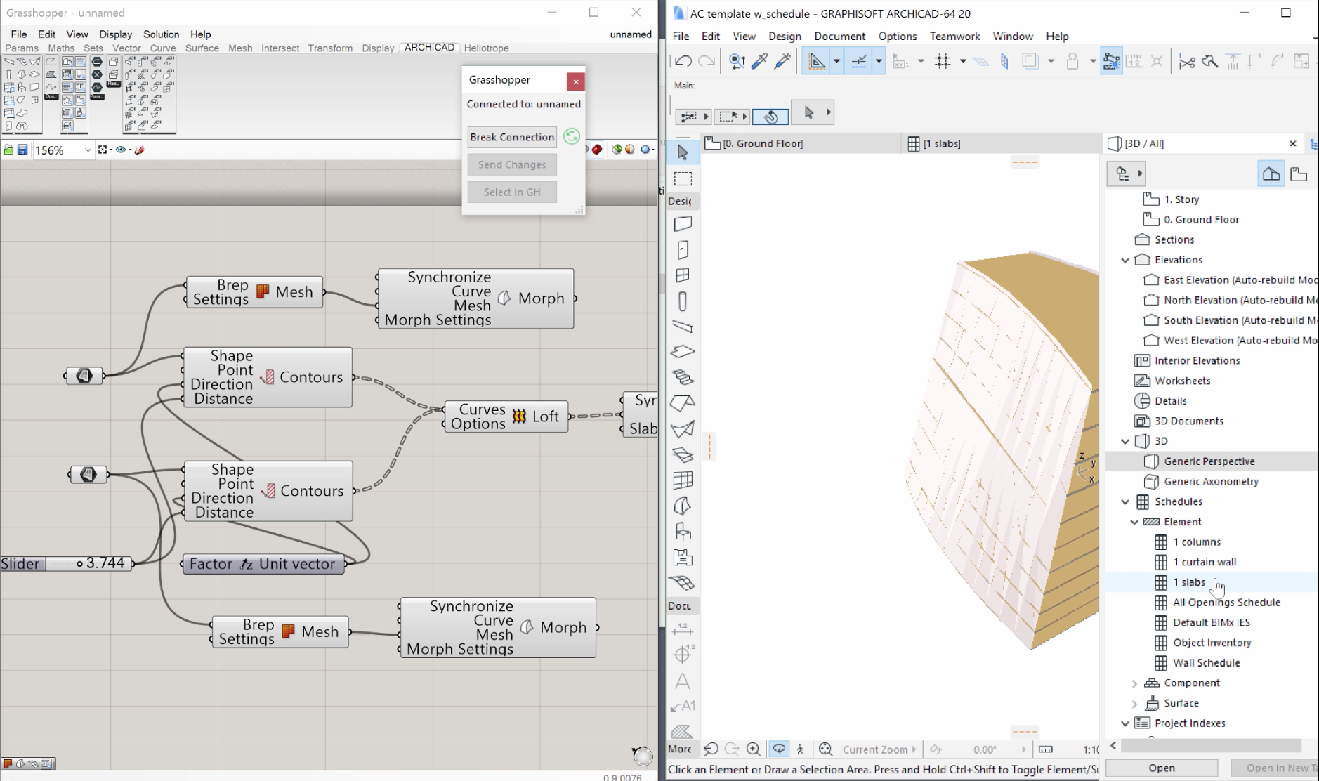 Algorithmic Design and the BIM workflow: Chapter 4  ARCHICAD